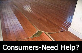We help consumers with flooring complaints and claims